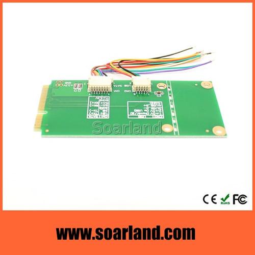 Dual USB to mini PCIe Adapter