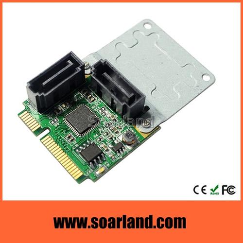 Dual SATA 3 to mini PCIe Raid Card