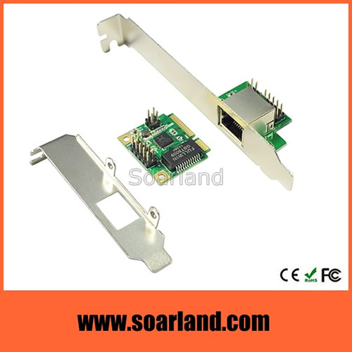 mini PCIe Gigabit Ethernet LAN Card