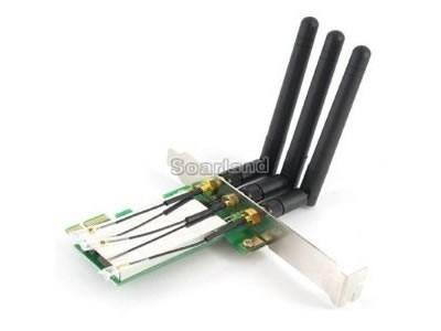 minipci-e to pci-e wireless