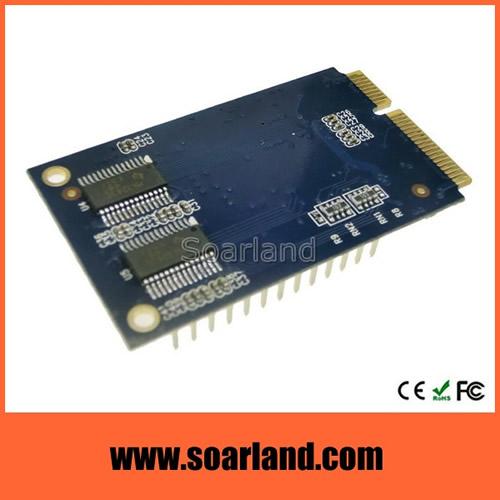 mini PCIe 2 Serial 1 Parallel Card