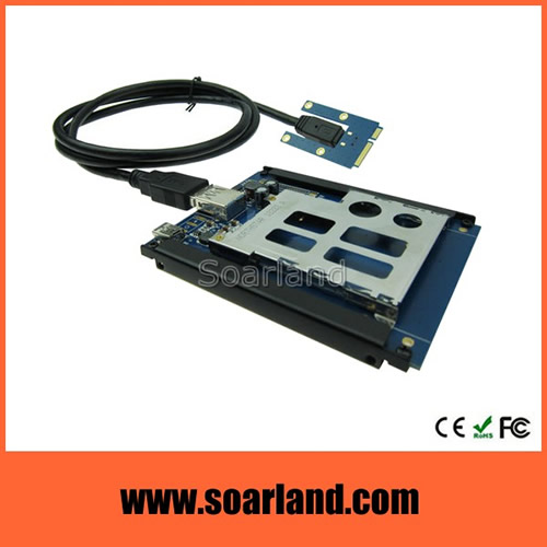 ExpressCard to mini PCIe Adapter