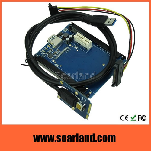 PCIe x1 to mini PCIe Adapter