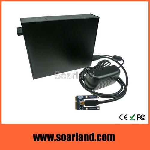 Dual PCIe to mini PCIe Adapter Enclosure