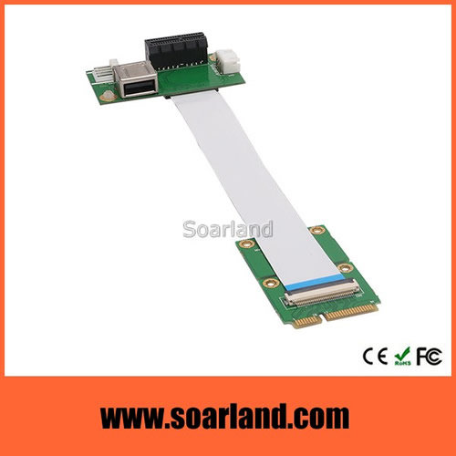 Dual USB to mini PCIe Adapter