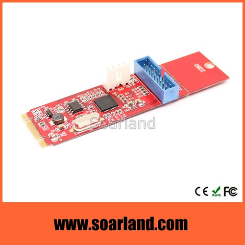 Motherboard USB 3.0 to NGFF M.2 Adapter