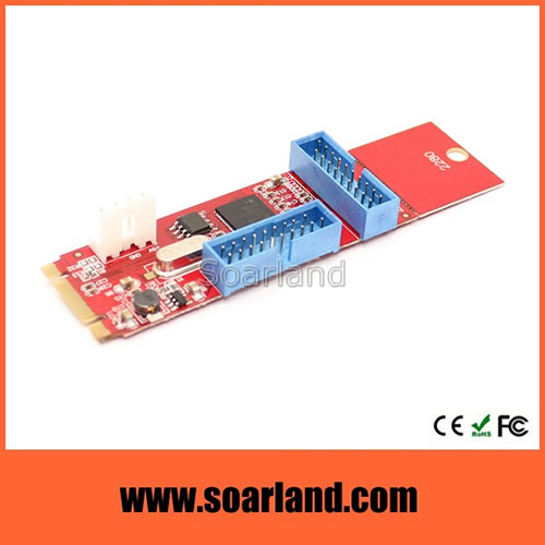 DUAL Motherboard USB 3.0 to NGFF M.2 Adapter