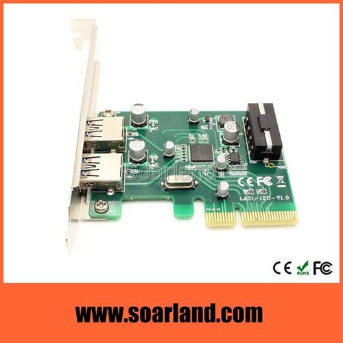 2-Port USB 3.1 Type-A PCIe Card