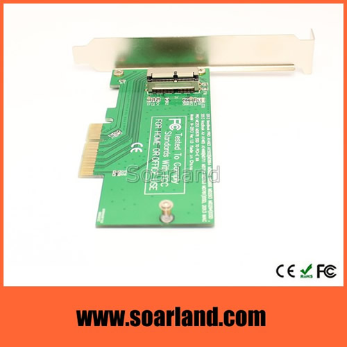 2013 2014 MacBook SSD Connector to PCIe x4 Adapter