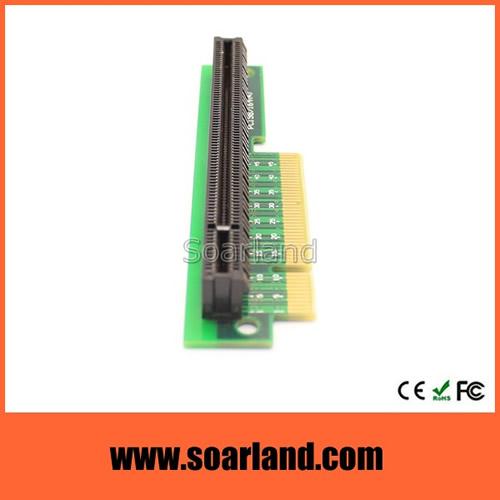 PCIe x8 to x16 Riser