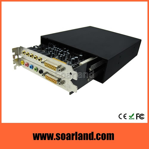 Dual PCIe to ExpressCard Adapter Enclosure