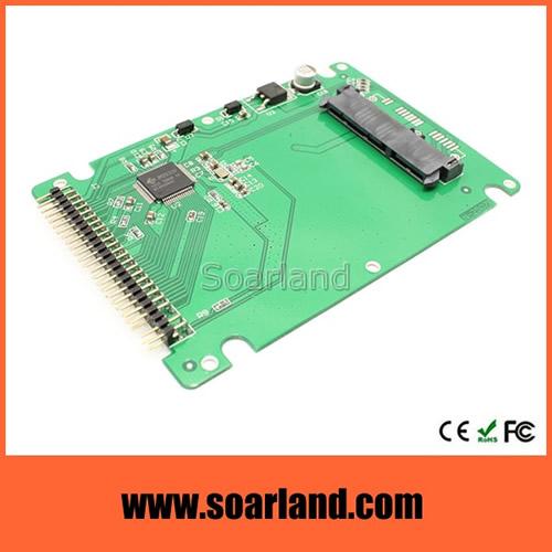 Half Slim SATA SSD to 2.5 inch IDE Enclosure