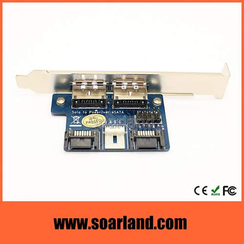 SATA to Power eSATA Adapter