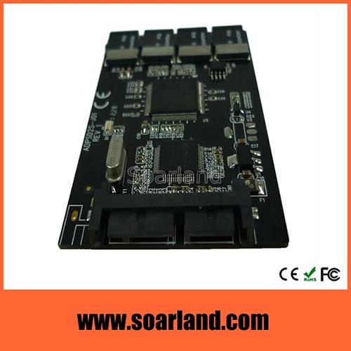 Quad micro SD to micro SATA Adapter