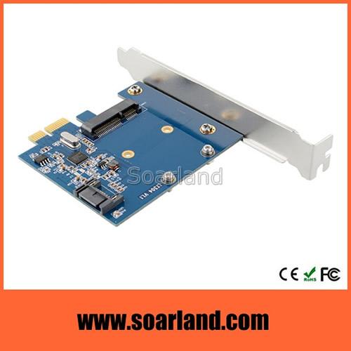 PCIe to mSATA Adapter
