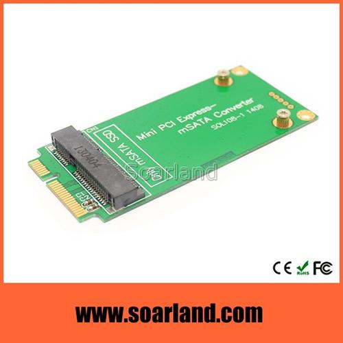 mSATA to mini PCIe Adapter