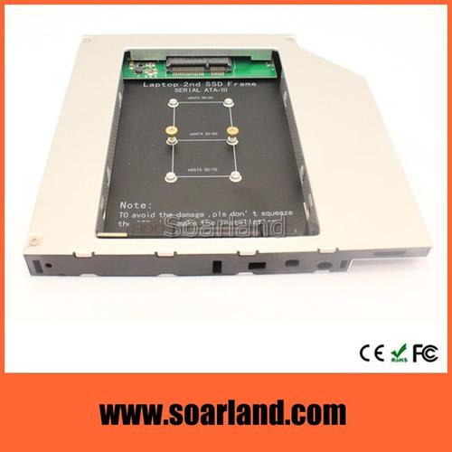 mSATA Second SSD Caddy