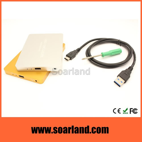USB 3.1 to Dual mSATA Enclosure