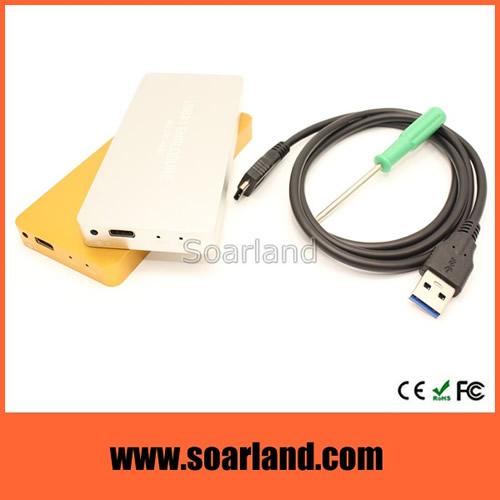 USB 3.1 to Dual M.2 SSD Enclosure