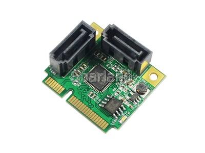SLMA1007 Dual SATA 3 to mini PCIe Raid Card