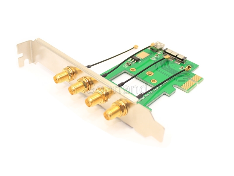 SLMB5200 MacBook WiFi Module to PCIe Adapter