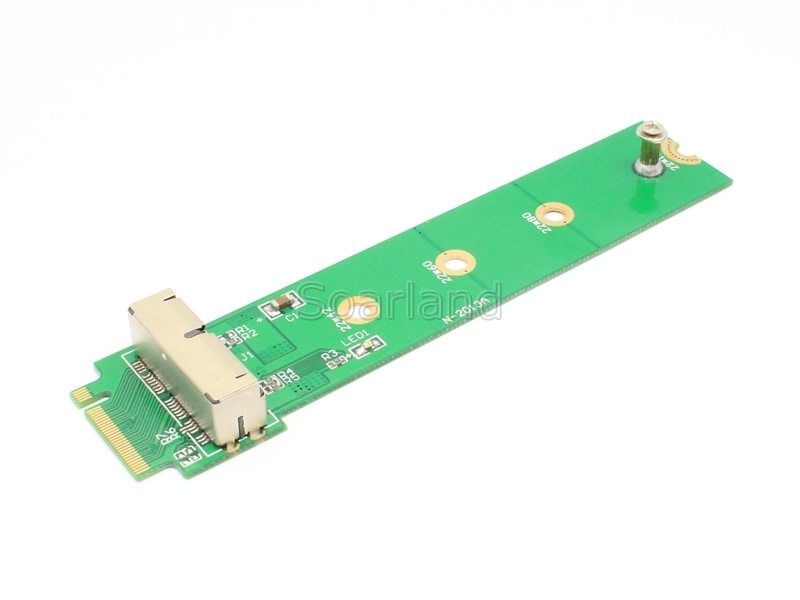 12+16 PIN MacBook SSD to NGFF M.2 Adapter