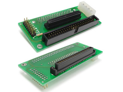Slsc1003 Sca 80 Pin To Scsi 68 Pin Idc 50 Pin Adapter