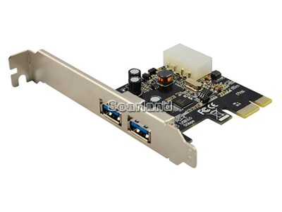 PCIe to 2-Port USB 3.0 Card