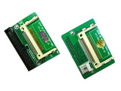 Dual CF Card 40-pin Male IDE Adapter
