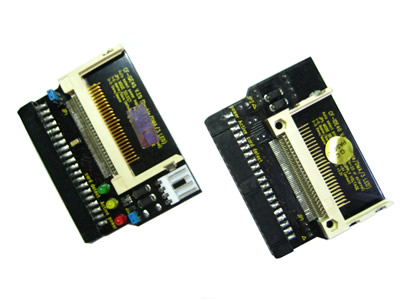 3-LEDs Dual CF Card 40-pin Female IDE Adapter