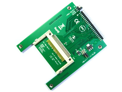 Four Mounting Holes 44-Pin Male IDE To CF Card Adapter