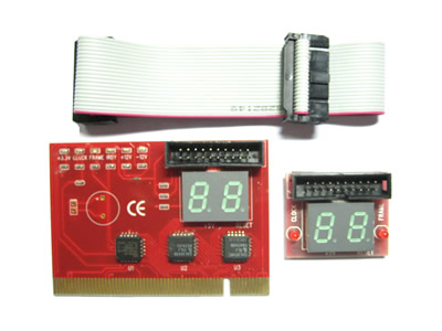 2-Digit External Display PCI Motherboard Diagnostic Debug Card
