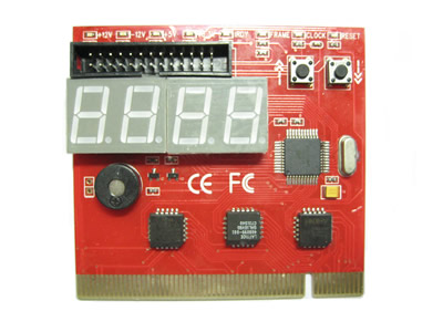 4-Digit PCI Motherboard Diagnostic Debug Card