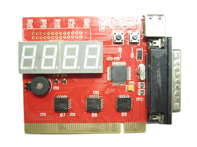 4-Digit PCI / LPT Motherboard Diagnostic Debug Card