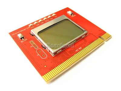 LCD PCI Motherboard Diagnostic Debug Card