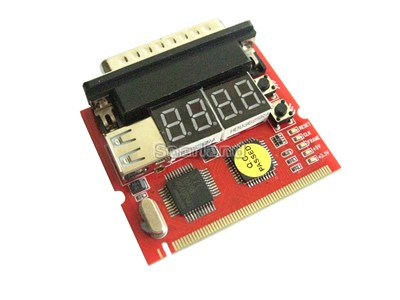 4-Digit MINIPCI / LPT Motherboard Diagnostic Debug Card