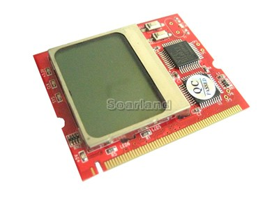 LCD MINIPCI Motherboard Diagnostic Debug Card