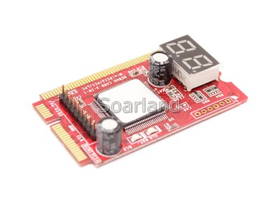 mini PCIe Motherboard Diagnostic Card