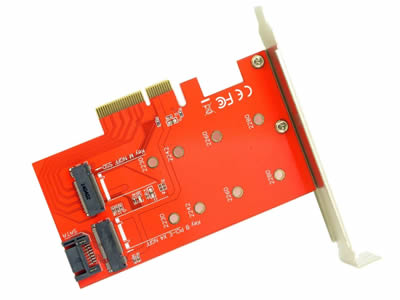 NGFF M.2 to PCIe Adapter
