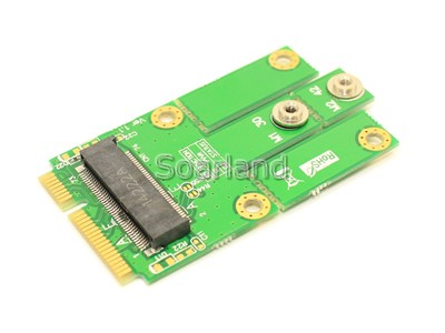 Key E M.2 to mini PCIe Adapter
