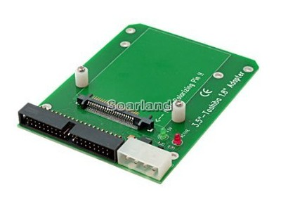 Mountable Toshiba 1.8 Inch To 3.5 Inch IDE Adapter