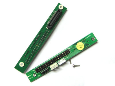 Small-PCB Slimline SlimCD JAE 50-Pin To IDE  Adapter