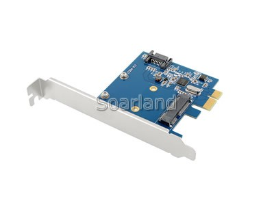 PCIe to mSATA Adapter