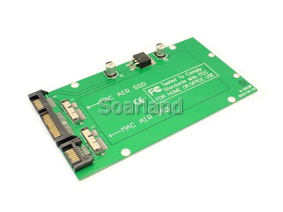 Dual MacBook Air 12+6 PIN SSD to SATA Adapter
