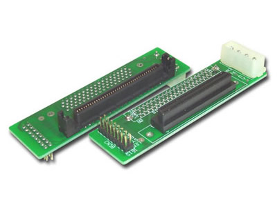 SCA 80-Pin To SCSI 68-Pin Adapter