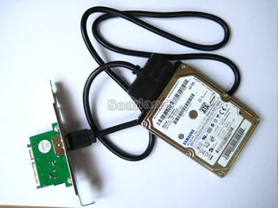 SATA to eSATA/USB Adapter